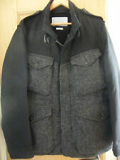 ESEMPLARE HULBERT MENS COAT VIRGIN WOOL SIZE XL SUPERB