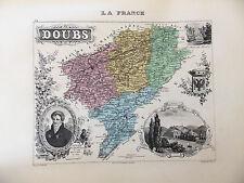 LA FRANCE ET SES COLONIES DEPARTEMENT DU DOUBS VOIR DESCRIPTIF
