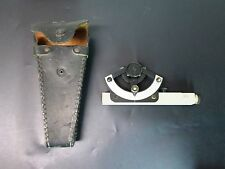 VINTAGE WARREN KNIGHT NO. 175 ABNEY LEVEL / SURVEY INCLINOMETER  WITH CASE / USA