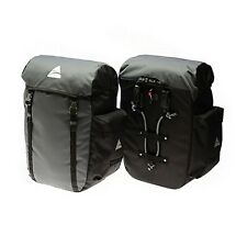 Axiom Seymour DLX 45 Pannier Set Grey/Black