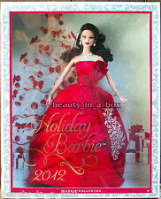 2012 Holiday Barbie Doll Christmas Celebration Brunette Version