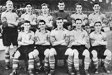 LEEDS UNITED FOOTBALL TEAM PHOTO 1952-53 SEASON