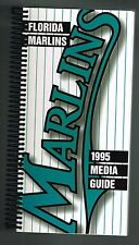 1995 Florida Miami Marlins Baseball MLB Media GUIDE