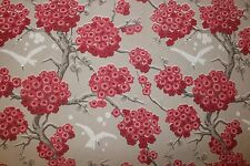 Osborne & Little curtain/upholstery fabric design Japoniere F6560-04 2.9 metres