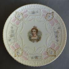 """Portrait Plate Weimar Germany 7 3/4"""" Marie de Medicis"""