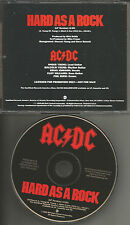 AC/DC AC DC ACDC Hard As A Rock PROMO DJ CD Single 1995 PRCD 9337 USA MINT