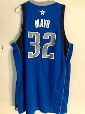 Adidas Swingman NBA Jersey Mavericks O.J. Mayo Blue sz XL