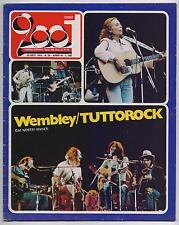 CIAO 2001 39/1974 wembley concert gram parsons battiato pink floyd stevie wonder