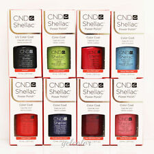 PICK ANY 10 CND Shellac Gel UV Soak off Gel Colors Coat Kit 7.3ml 0.25 fl oz SET