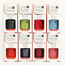 PICK ANY 2 CND Shellac Gel UV Soak off Gel Colors Coat Kit 7.3ml 0.25 fl oz SET