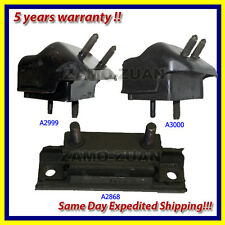 1997-2001 Mercury Mountaineer 5.0L Engine Motor & Trans. Mount Set 3PCS
