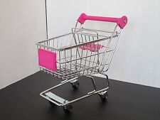 SHOPPING / GROCERY CART + Pink Accents + Moving Wheels fits American Girl