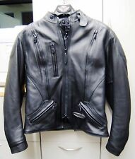 HARLEY DAVIDSON WOMENS FXRG ARMORED LEATHER JACKET, SZ MED/MID-WEIGHT 98504-99VW