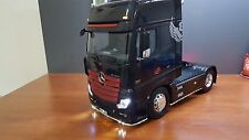 1/14 Tamiya Rc Truck Mercedes Actros Lightbar Set v1 Front And Side