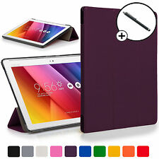Forefront Cases® Purple Folding Smart Case Cover for ASUS Zenpad Z300C + Stylus