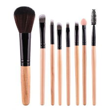 Professional 8Pcs Makeup Blush Eyeshadow Brush Set Leopard Bag Beauty Brushes*