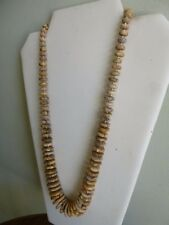 Natural Graduated Picture Jasper And Silver Native American Style  Necklace