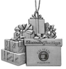 Cal State University, Fullerton  - Pewter Gift Package Ornament