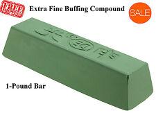 Metal Polishing Compound Buffing Bar Mirror Finish Tool Buffer Kit Buff Polisher