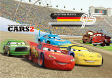 CARS 2 the movie - 3D Lenticular Poster - 10x14 - Official Disney Pixar Product