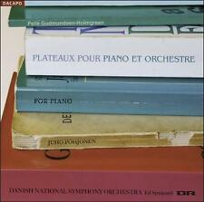 Holmgreen: Plateaux pour Piano et Orchesta [SACD], New Music
