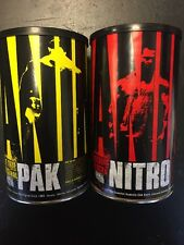 Universal Nutrition Animal Nitro 44 Packs EAA BCAA-Animal PAK 44 Training Packs