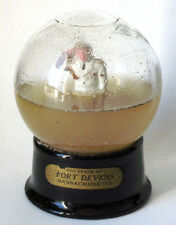 Vintage Souvenir of Fort Devens Snow Globe/ Water Dome Collectible #62