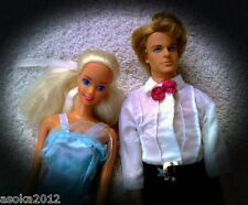 Barbie mattel ken fashion Princess boda Doll set lot colección konvult