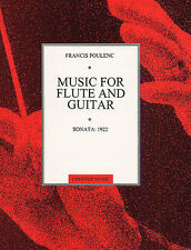 Poulenc Sonata For Flute And Guitar Learn to Play Music Book