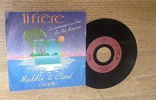 SP 45 tours (dernière compagne Jacques Brel) MADDLY & CLAREL Ti frère 1984 EXC