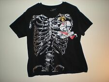 VISION STREET WEAR LIMITED EDITION TATTOO SKULL T-SHIRT YOUTH  LARGE