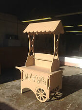 Quality Wedding Candy Cart Sweet Party Cart Collapsible can be personalised