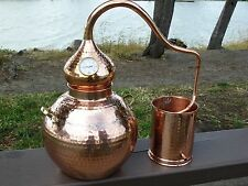 5 Gallon Copper Whiskey Still, Moonshine Still, Alembic, Ethanol, Essential Oils