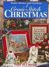 Better Homes and Gardens a Cross-Stitch Christmas: Gifts to Cherish