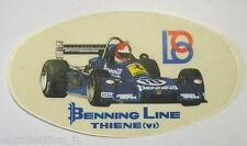 VECCHIO ADESIVO AUTO / Old Sticker F1 FERRARI BENNING LINE THIENE (cm 14x8)