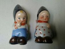Vintage Dutch Boy And Girl Salt And Pepper Shakers. West Germany???