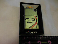 CHEVY  D  ZIPPO 11  LIGHTER MINT IN BOX --NO BOX TOP