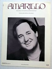 NEIL SEDAKA Sheet Music AMARILLO Warner Brothers Publ. 70's POP vocal GREENFIELD