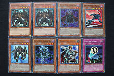 Destiny Hero deck set (Malicious, Doom Lord, Dasher, Fear Monger, Diamond Due..)