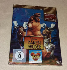 DVD + Soundtrack Walt Disney Bärenbrüder Limited Edition 2013  Neu in Folie