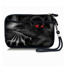 "Skull Portable Sleeve Case Bag Pouch For 2.5"" USB External HDD/Hard Drive Disk"