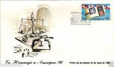 Chile 1986 FDC En Homenaje a Ameripex 86