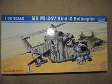 TRUMPETER Mil Mi-24V Hind-E Helicopter 1/35 scale, item #05103