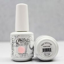 Gelish Harmony Soak Off UV LED Nail Gel Polish PINK SMOOTHIE 01408 15 mL/0.5oz
