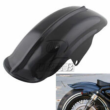 Black Rear ABS Mudguard Fender For Harley Sportster 883 Solo Bobber Cafe Racer