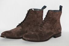 NEU HUGO BOSS Stiefeletten Gr. 42,5 (UK 8,5) Made in Italy UVP: 349,00 €