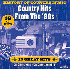 History of Country Music: Hits from the '80S/Var, Various Artists, Acceptable