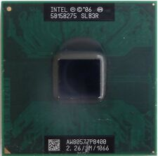 Cpu Processore Intel Core Duo P8400 2.26/3M/1066 SLB3R x TOSHIBA SATELLITE A300