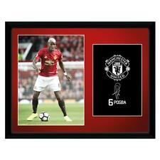Official Manchester United F.C.  Picture Pogba 16 x 12 Xmas Football Gift