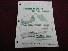 1978 MOVEMENT of UNITS in AIR FORCE AIRCRAFT FM 55-12 AFR 76-6